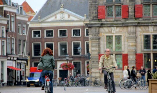 Bikes in Delft