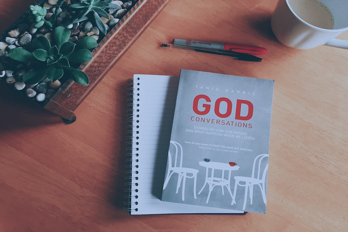 God Conversations Book - By Pastor Tania Harris